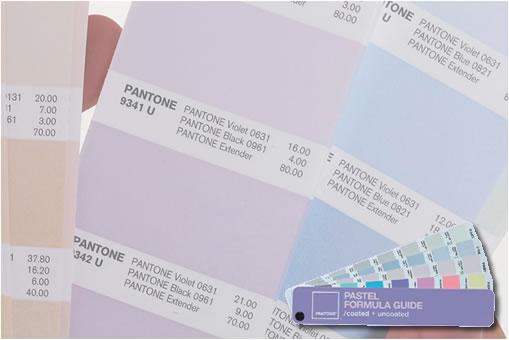 Pantone Pastels Pantone Pastel Formula Guide