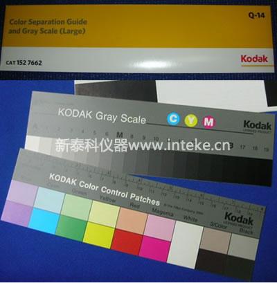 Kodak Color Separation Guide And Gray Scale Kodak Q 14 Color Card